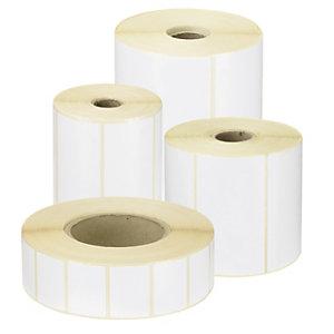 Etikety 32x25 kotouč bílé 3000ks