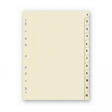 Rozdružovač A4 1-12 papír
