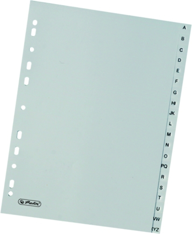 Rozdružovač A5 A-Z šedé PVC