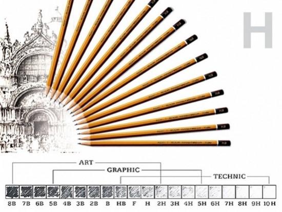 Tužka graf.technická 1500