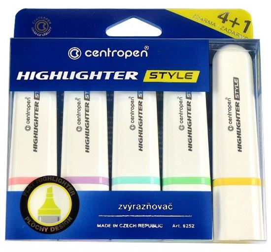 Zvýrazňovač 6252/4+1 Highlighter