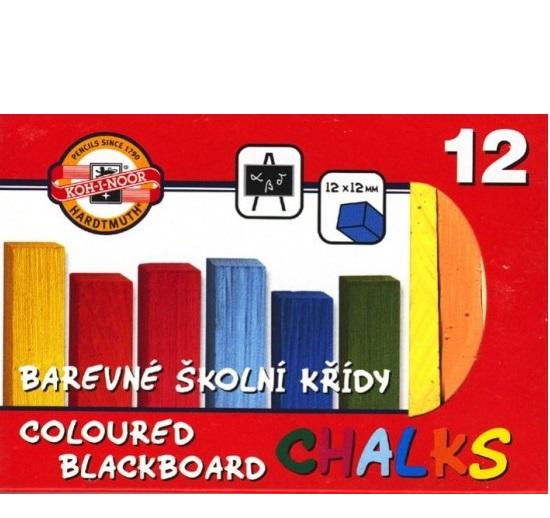 Křída barevná 12ks  Koh-i-noor