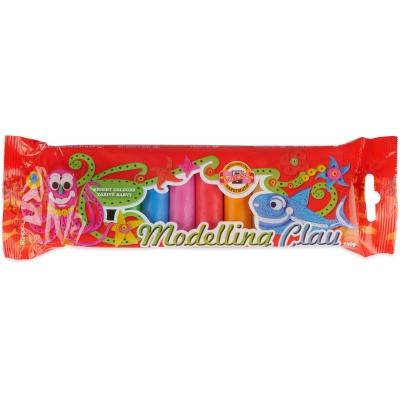 Plastelína 10 barev 200g Koh-i-noor