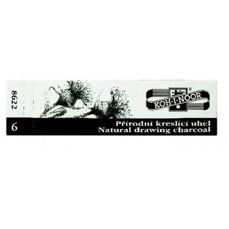 Uhel přírodní černý 8622/6ks Koh-i-noor