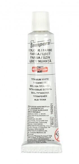 Barva tempera běloba titan 16ml