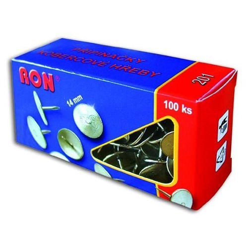 Připínáčky 201 Ron 14 mm/100 ks