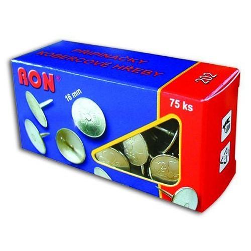Připínáčky 202 Ron 16 mm /75 ks