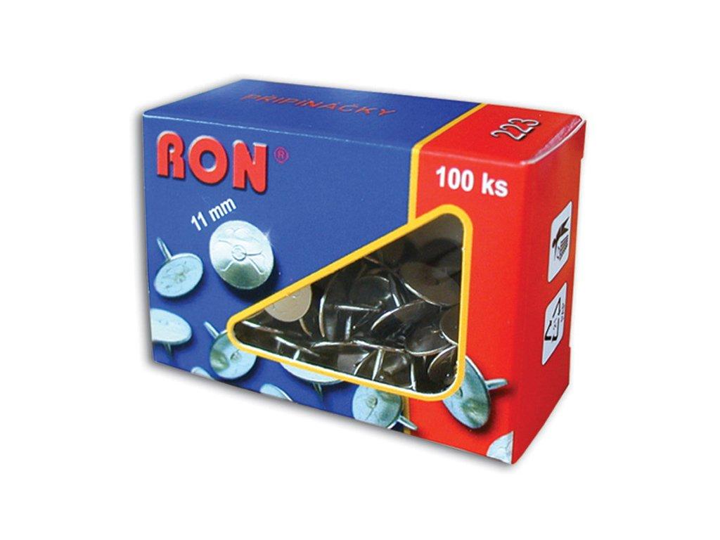 Připínáčky 222 Ron 10 mm/100 ks