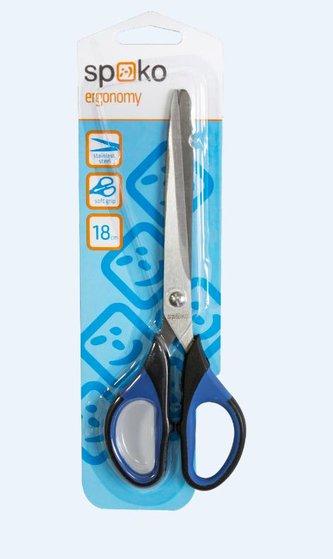 Nůžky 18cm plast Spoko 0536